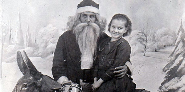 Santa Claus Over Time