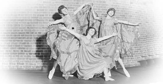 Women In Dance In The Early 20th Century