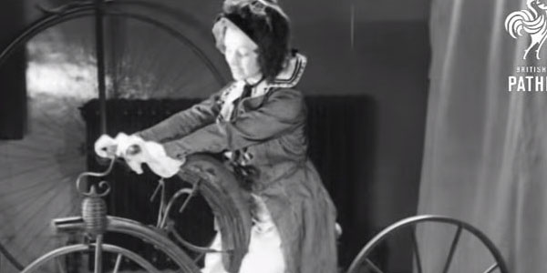 Bicycles In Action - The 1800's