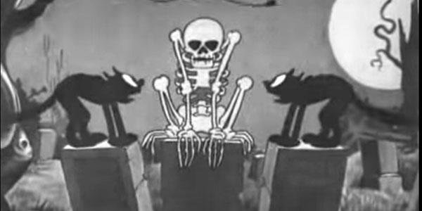 1929 Disney Halloween Cartoon